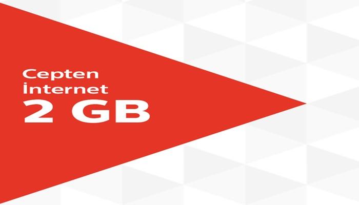 Türk Telekom 6 Ay Geçerli Aylık 2 GB Hediye İnternet Kampanyası