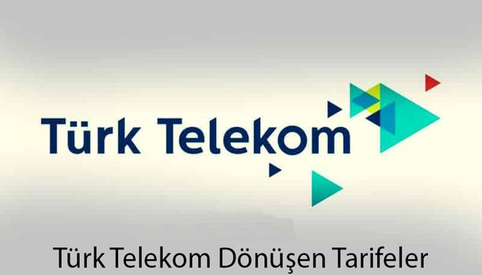 Türk Telekom Dönüşen Tarife Kampanyası