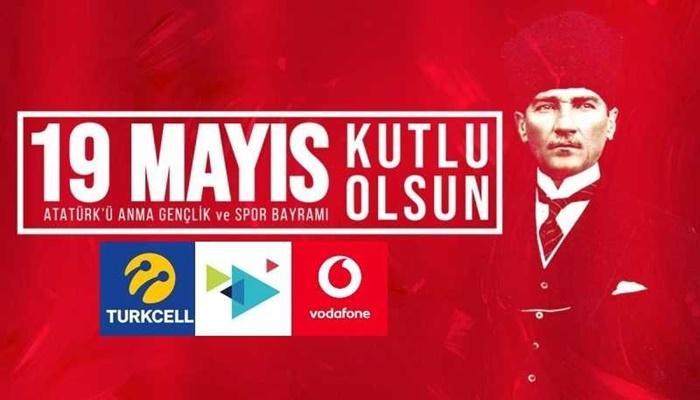 Türk Telekom Vodafone, Turkcell 19 Mayıs 2021 Bedava İnternet!
