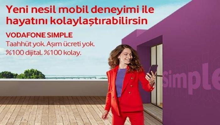 Yeni Nesil Mobil Deneyimi Vodafone Simple Nedir, Nasıl kullanılır? Vodafone Simple Tarifeleri