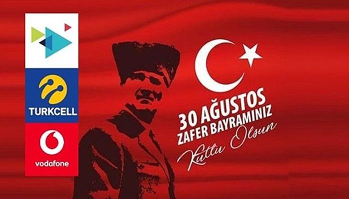 30 Ağustos 2021 Turkcell Vodafone Türk Telekom Bedava İnternet