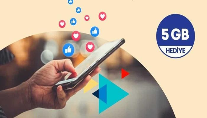 Türk Telekom Mobil Yaşa Tarifeleri ile 5 GB Hediye İnternet Kampanyası!