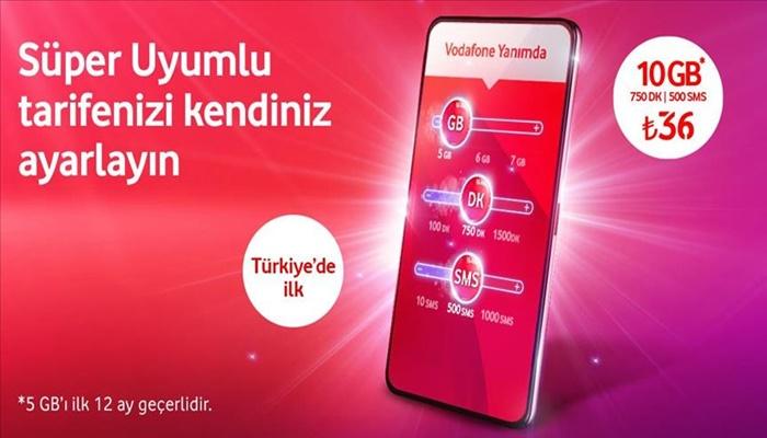 Vodafone Süper Uyumlu Tarifelerle İçeriğini Sen Belirle!